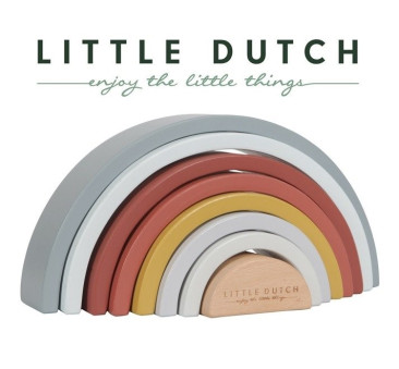Pure & Nature - Drewniana Tęcza - Little Dutch