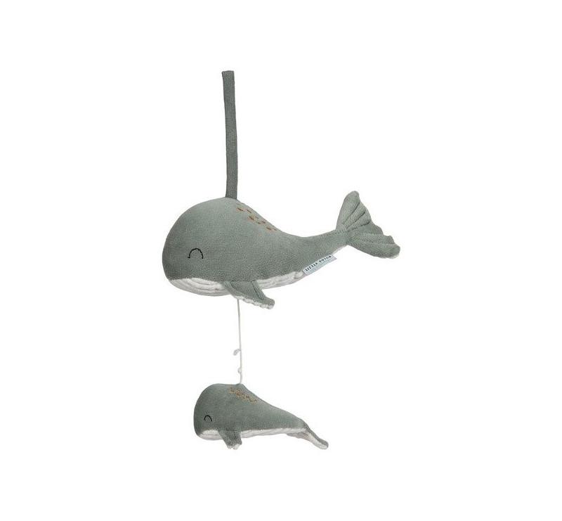 Mięta - Pozytywka Wieloryb - Ocean - Little Dutch
