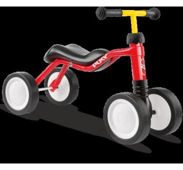 Jeździk Dla Dzieci WUTSCH - Red/Czerwony - Białe Koła - PUKY