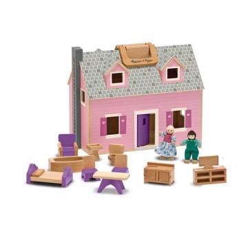 WYPRZEDAŻ Drewniany Domek Dla Lalek - Melissa & Doug