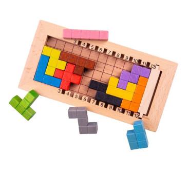 Gra Tetris - Bigjigs Toys