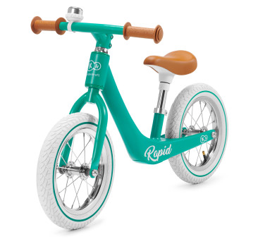 Midnight Green - Rowerek Biegowy Magnessium- RAPID - Zielony- Kinderkraft