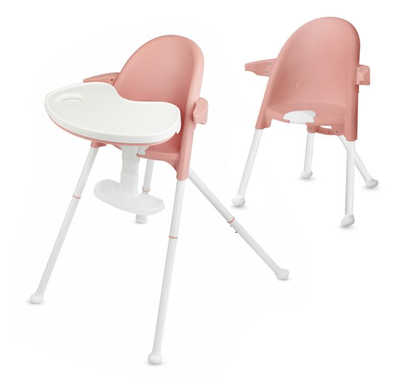 Różowe - PINI - Krzesełko Do Karmienia - Pink - Kinderkraft