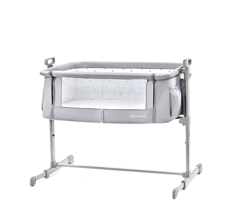 Łóżeczko dostawne NESTE - gray - Kinderkraft