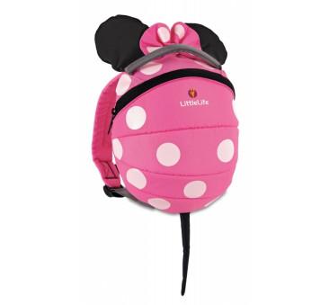 Plecaczek LittleLife - Myszka Minnie Disney - Pink - dla dzieci 1-3 lat