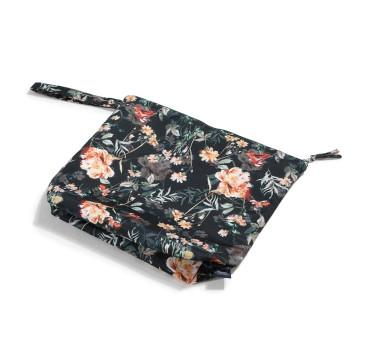 XL Blooming Boutique Noir - Waterproof Travel Bag - Kosmetyczka - La Millou