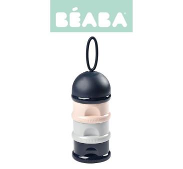 Dark Blue/Gray/Pink - Pojemniki na mleko w proszku - Beaba