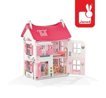 Domek dla lalek z mebelkami - Janod