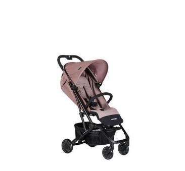 Desert Pink Easywalker Buggy XS - Wózek spacerowy z osłonką przeciwdeszczową - Easywalker - Pudrowy róż - Spacerówka 2019