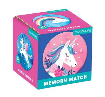 Magiczne Jednorożce - Memory - Gra Mini - Mudpuppy