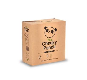 Papier Toaletowy W Papierowym Opakowaniu - 4 rolki - Cheeky Panda
