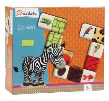 Domino double Zwierzęta i tekstury