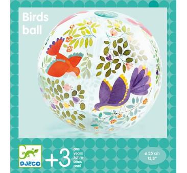 Ptaki I Kwiaty - Piłka Plażowa - Djeco
