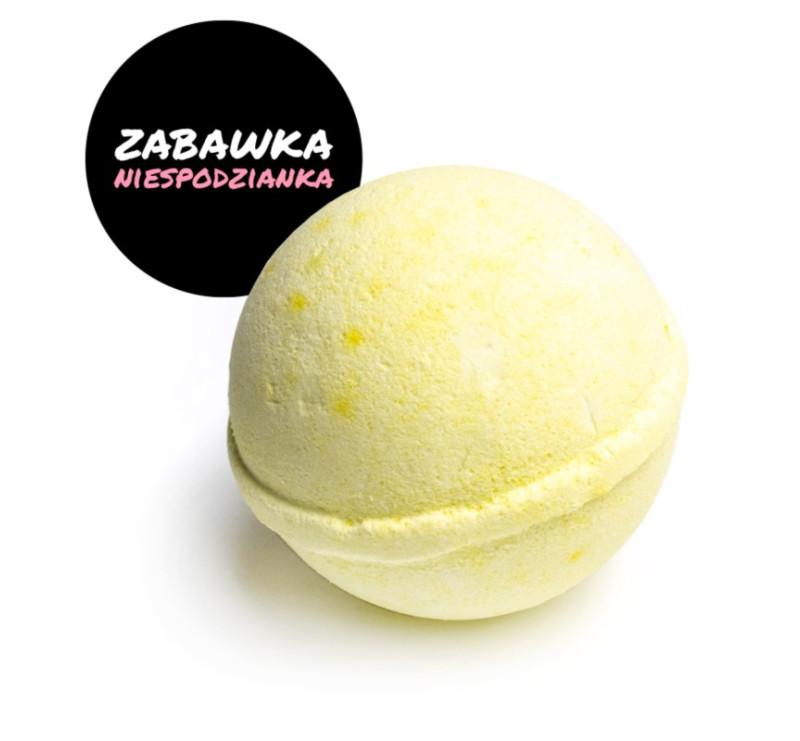 Żółta - Kulka Musująca Do Kąpieli - Bananowa - MINI-U