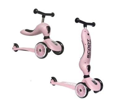 Rose - Highwaykick1 2w1 - Jeździk i hulajnoga 1-5 lat - Scootandride Scoot&Ride