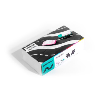 OPEN ROAD - Zestaw WayToPlay Droga do Układania + Autka Candylab - WayToPlay