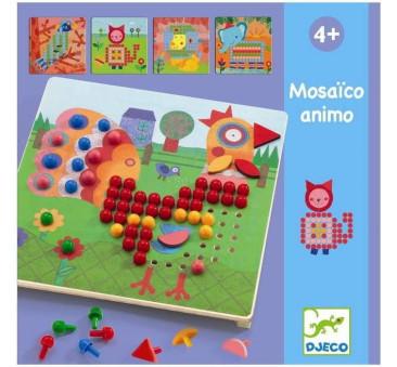 Animo Mozaika - Kolorowe Obrazki - Djeco