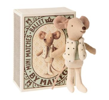 Myszka Tancerz w Pudełeczku - Dancer In Matchbox - Little Brother - Maileg