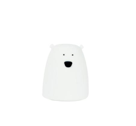 Biały Miś - Mała Lampka Silikonowa - Rabbit & Friends