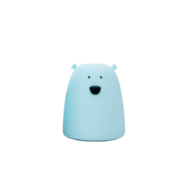 Niebieski Miś - Mała Lampka Silikonowa - Rabbit & Friends