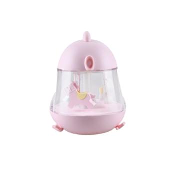 Różowy Kurczaczek - Lampka Z Pozytywką - Rabbit & Friends