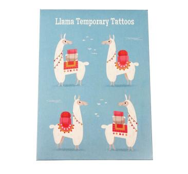 Zmywalne Tatuaże - Lama - Rex London Trade