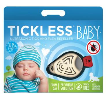 Baby Beige - Ultradźwiękowe Urządzenie Odstraszające Kleszcze - TickLess Baby - TickLess