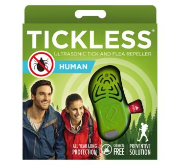 Human Green - Ultradźwiękowe Urządzenie Odstraszające Kleszcze - TickLess Human - Tickless