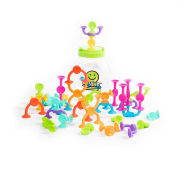 Klocki Przyssawki Squigz 36 elementów - Fat Brain Toy