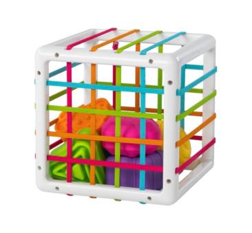 Sorter InnyBin - Elastyczna Kostka - Fat Brain Toys