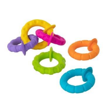 Obręcze - Mini Przyssawki - BoboPrzyssawki - Kółeczka - PipSquigz Ringlets - Fat Brain Toys