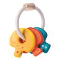 Drewniana grzechotka klucze - Plan Toys