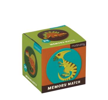 Dinozaury - Memory - Gra Mini - Mudpuppy
