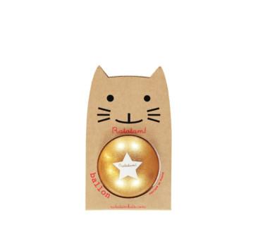 WYPRZEDAŻ Glitter Gold - Piłka 15 cm - Ratatam