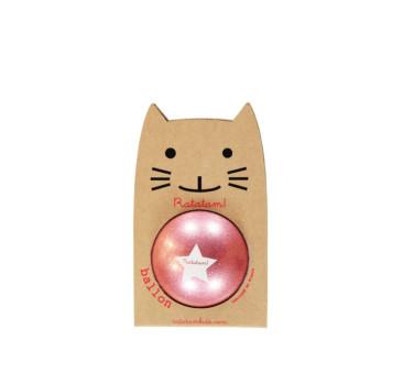 WYPRZEDAŻ Glitter Pink - Piłka 15 cm - Ratatam