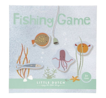 Rybki Do Łowienia Na Magnes - Little Dutch - Fishing Game