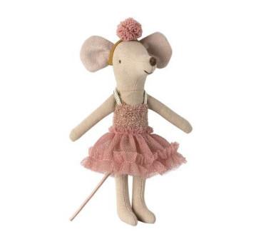 Myszka Baletnica - Mira Belle Dance Mouse - Big Sister - Maileg
