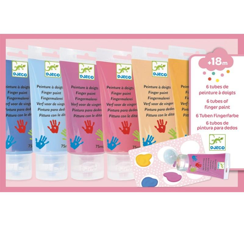 SWEET - Farby Do Malowania Palcami - Djeco