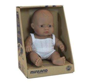 Hiszpanka 21 cm - Lalka Dziewczynka Hiszpańska - Miniland Baby - Miniland