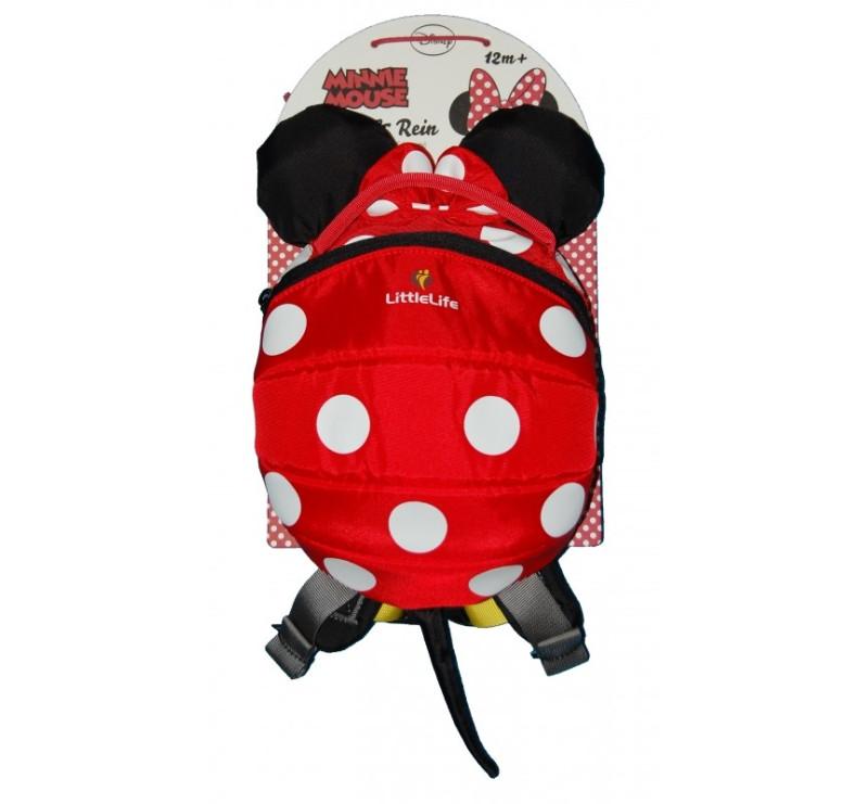 Plecaczek LittleLife - Myszka Minnie Disney - Red - dla dzieci 1-3 lat
