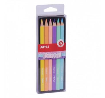 Pastel - Kredki Ołówkowe Jumbo - Apli Kids