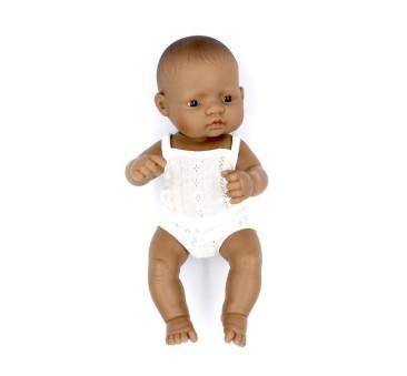Hiszpanka 32 - Lalka Dziewczynka Hiszpanka 32 cm + Ubranko Miniland Baby - Miniland Doll - Miniland