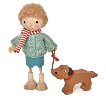 Laleczka Pan Goodwood i Jego Pies - Tender Leaf Toys