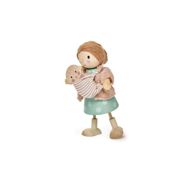 Laleczka Pani Goodwood z Dzieckiem - Tender Leaf Toys