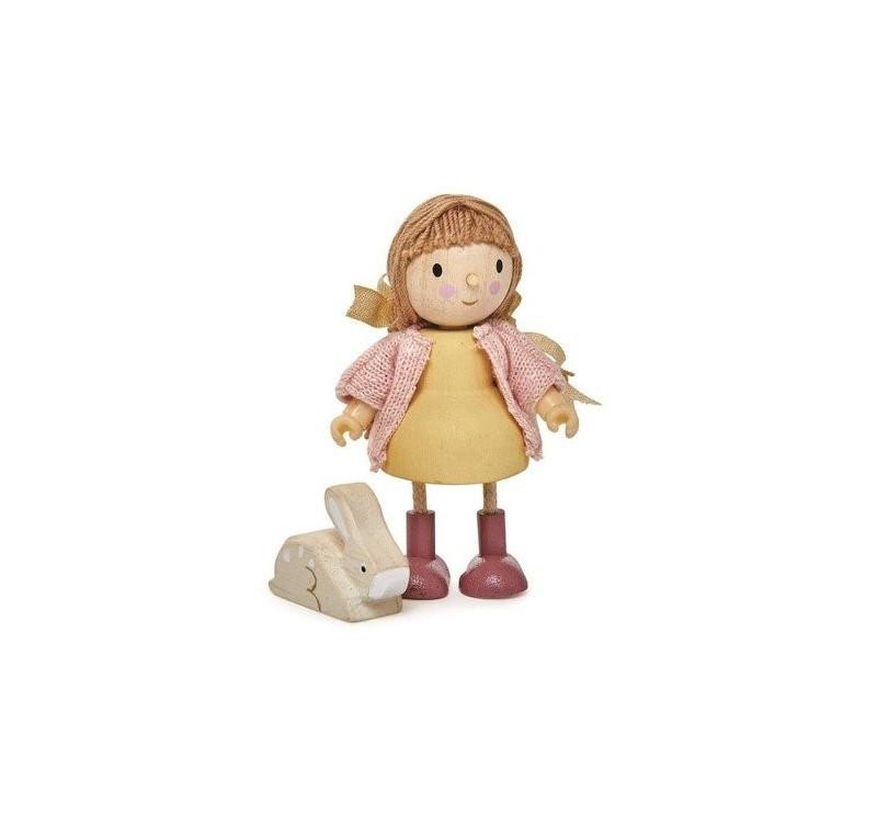 Laleczka Amy i Jej Króik - Tender Leaf Toys