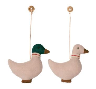 Kaczka - Bawełniana Dekoracja Bożonarodzeniowa - Duck Ornament - Maileg
