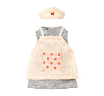 Pielegniarka - Ubranko Dla Myszki - Nurse Clothes For Mouse - Maileg