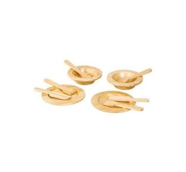 Drewniana Zastawa Stołowa - Plan Toys - Montessori