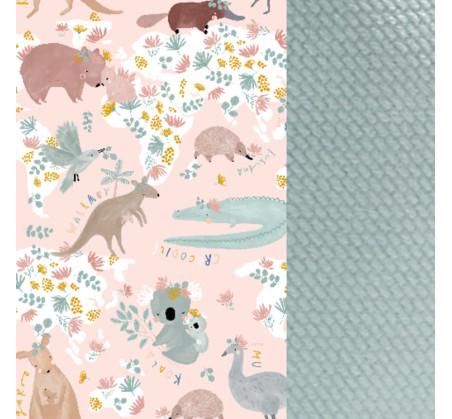 Baby Nest - Gniazdko - Dundee & Friends Pink - Smoke Mint - La Millou - Velvet Collection