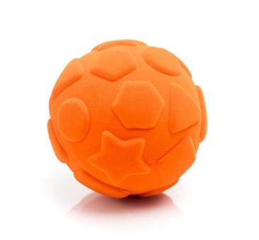 Sensoryczna Piłka Figury Geometryczne - Pomarańczowa - Rubbabu